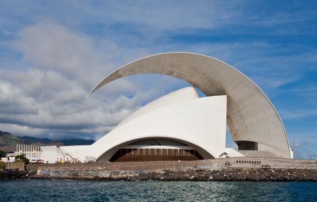 Santiago Calatrava Auditorio « Adán Martín » de Tenerife