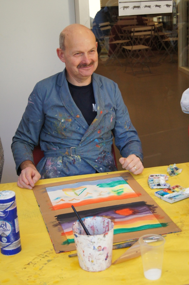 Met Kunst en Cultuur cursus, schilderen ervaren