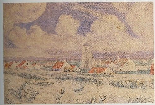 """Landschap te Mariakerke"" : James Ensor, 1896"
