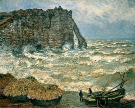 Monet-Mer_agitée_à_Etretat-MBA-Lyon