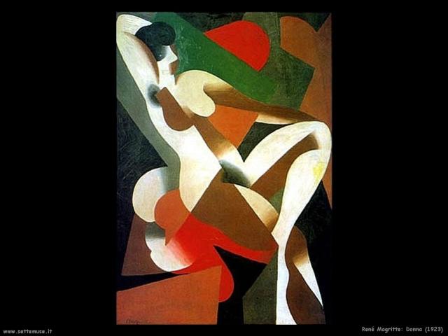 Donna René Magritte