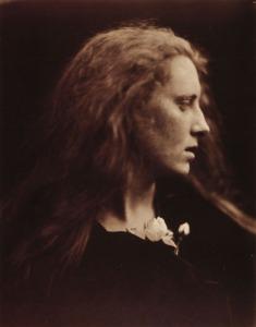 Julia Margaret Cameron Ophelia (Mary Pinnock) Albumen print, 1867 From Julia Margaret Cameron's Women